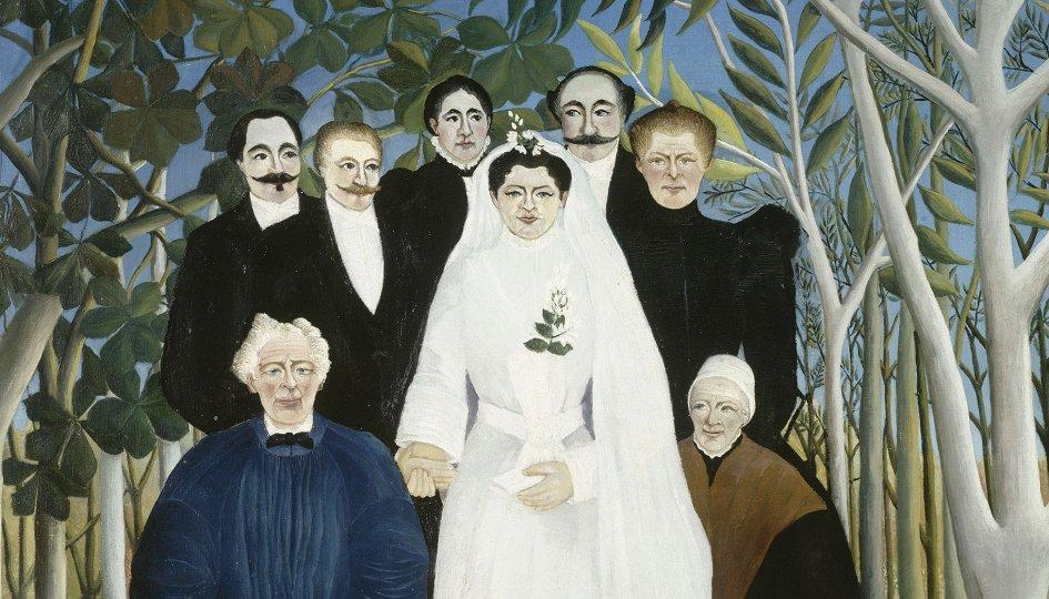 Выставки: Парижские вечера баронессы Эттинген. Руссо, Модильяни, Аполлинер, Сюрваж, Фера