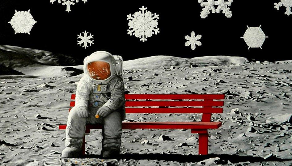 Выставки: Дмитрий Ляшенко. #луна_наша