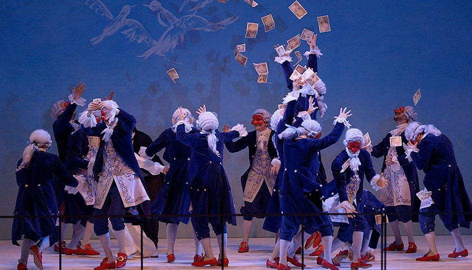 Театр: Севильский цирюльник