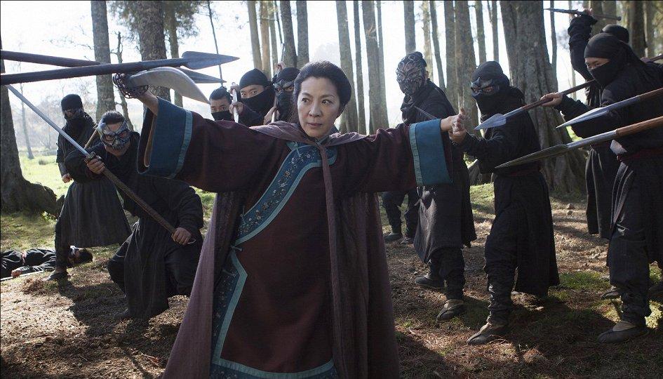 Кино: «Крадущийся тигр, затаившийся дракон-2»