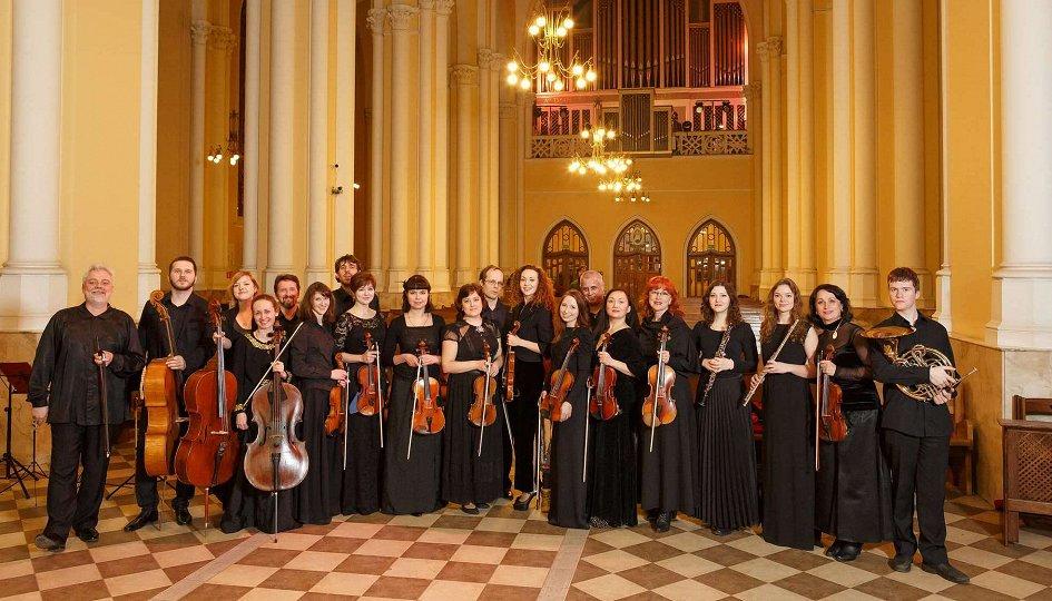 Концерты: Камерный оркестр «Инструментальная капелла». Дирижер Виктор Луценко
