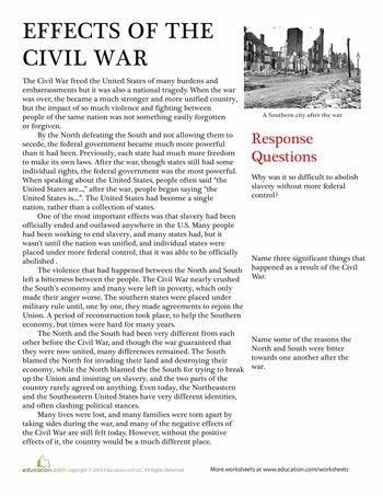 Causing the Civil War - Teachinghistoryorg