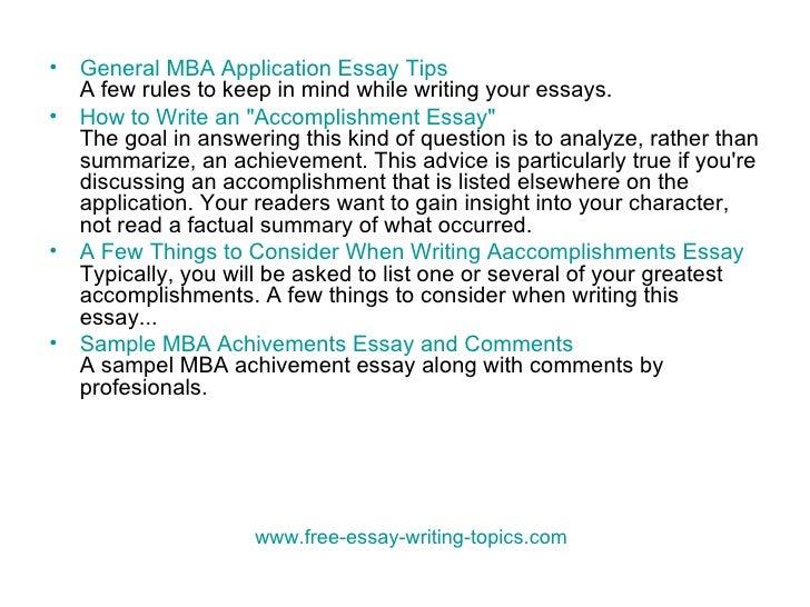 Reasons Elite MBA Applicants Fail the Failure Essay
