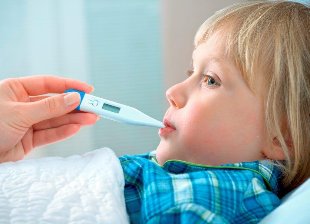 Ребенок часто болеет, что делать? Температура у