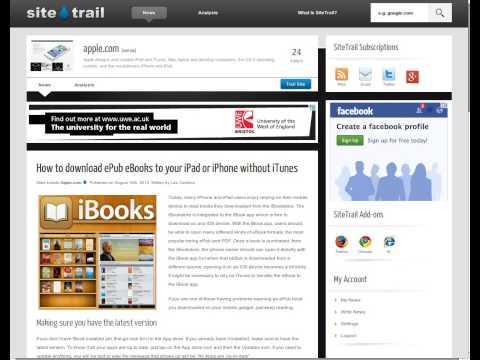 How to Transfer ePub eBooks to Your iPad - iClarified