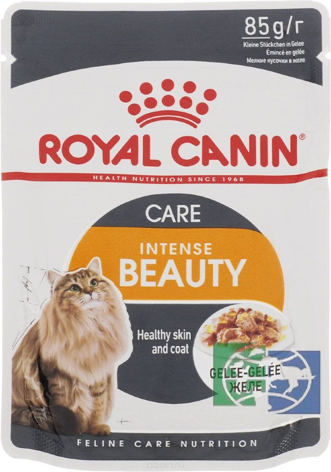 Корм royal canin желе или соуса