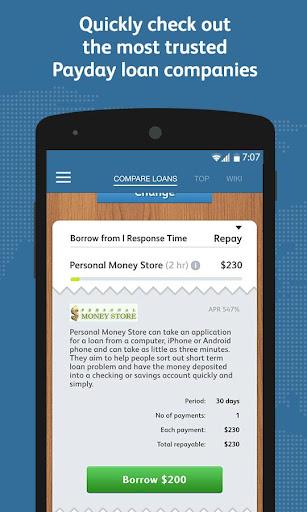 Vista payday loans
