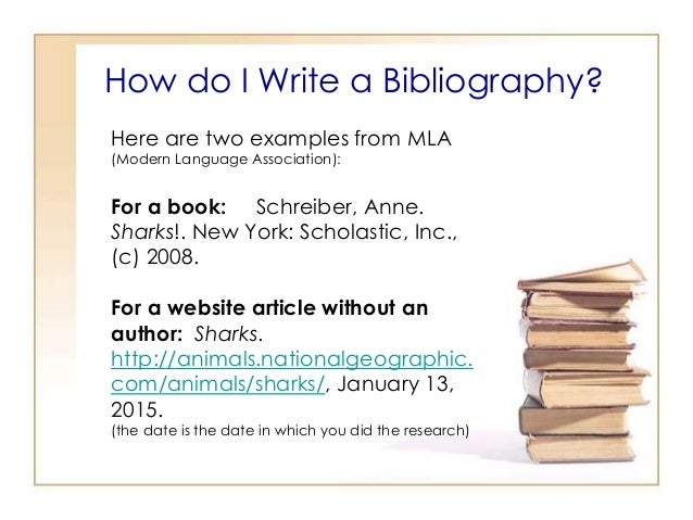 Write my sample bibliographies