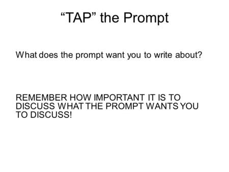 Previous sat essay prompts