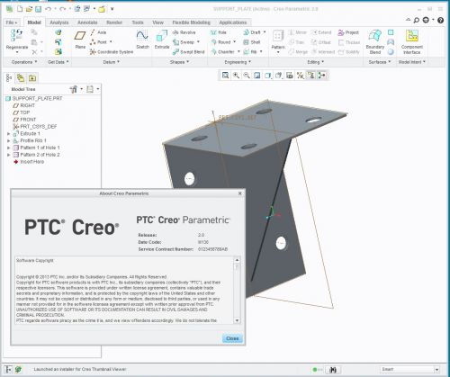 PTC Creo V2.0 M030 MULTiLANGUAGE-SolidSQUAD --