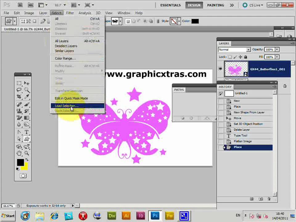 ADOBE PHOTOSHOP CS3 TUTORIAL