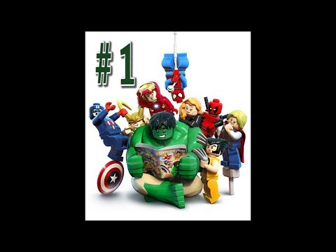 Lego Marvel Superheroes Wii U Gameplay Youtube