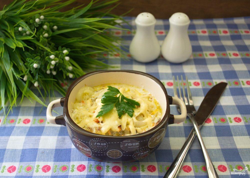 Колдуны в горшочке рецепт с фото