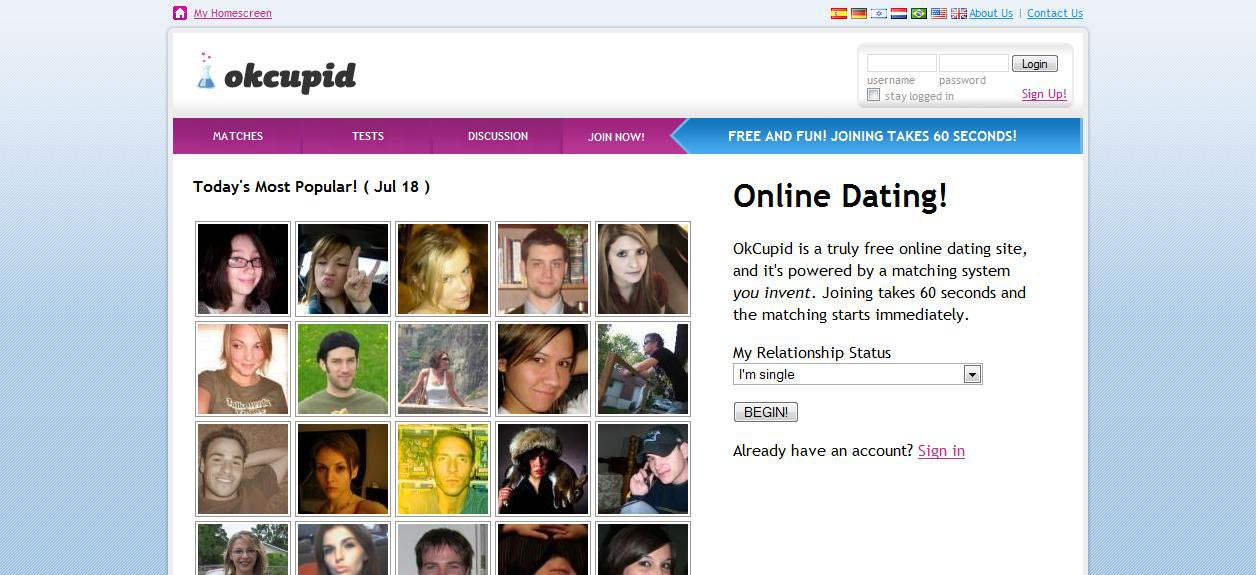 Dating site free messaging