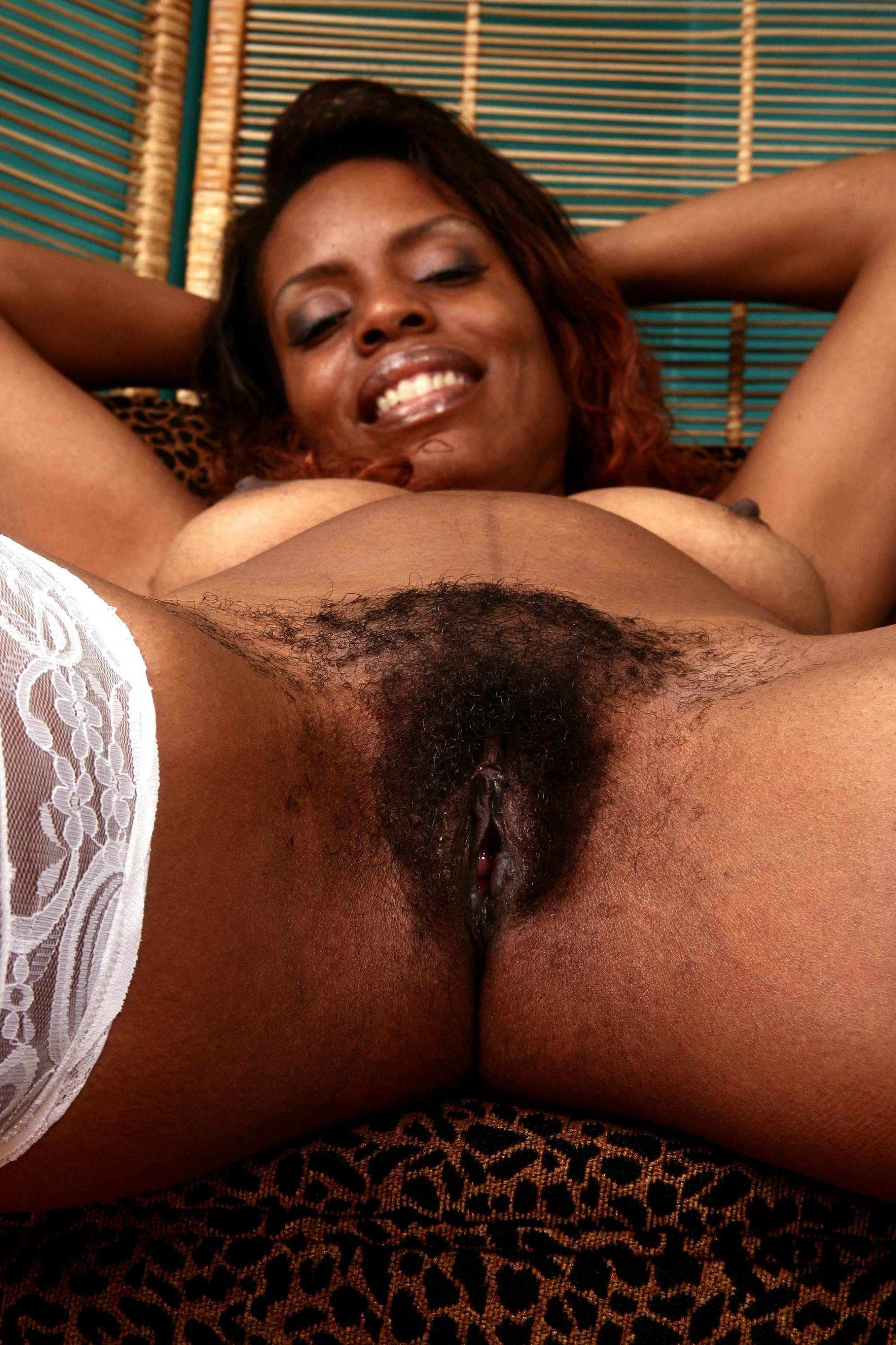 Black hot hairy