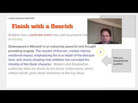 Essay Questions - Example Essay Questions