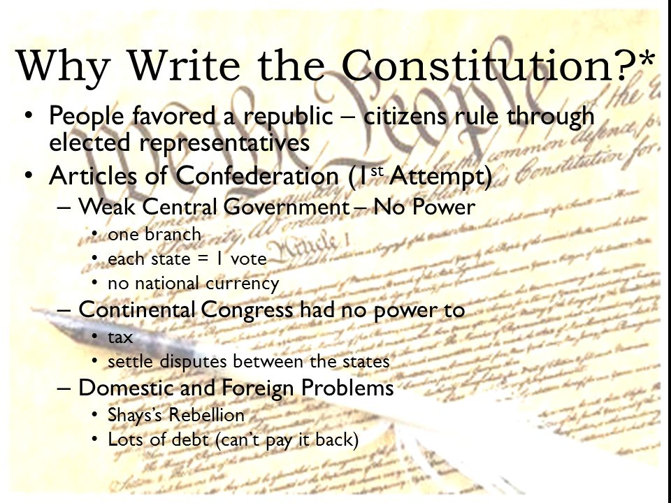 Write my constitution paper