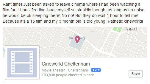 IMAX screen - Cineworld IMAX Cheltenham, Cheltenham