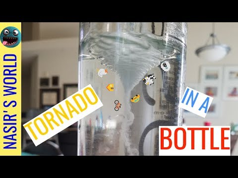 Make a Tornado in a Bottle - Fun Science Experiments