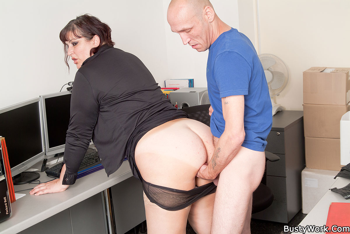 bbw office porno