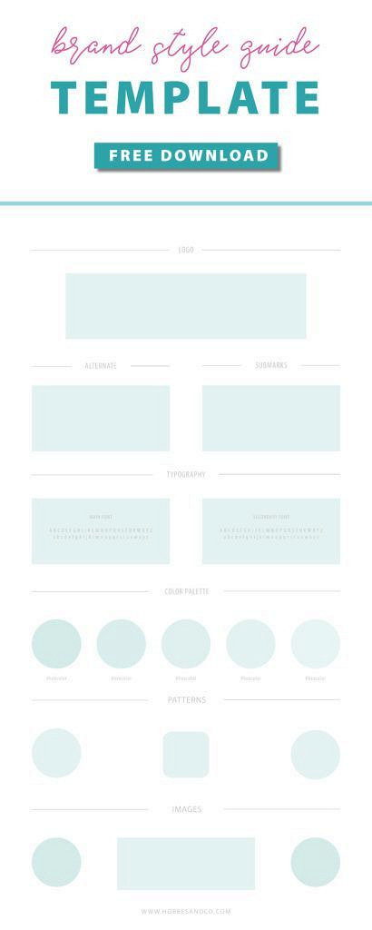 UI Style Guide Template (psd) by Medialoot - Dribbble