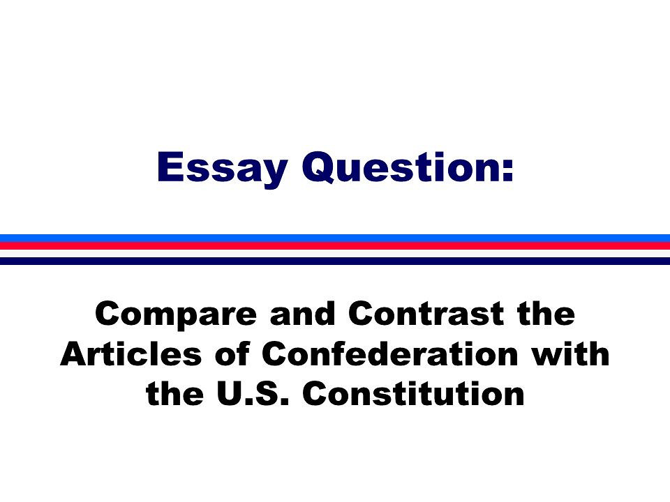 Write my essays on the us constitution