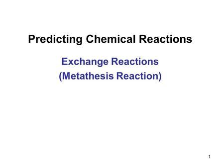 Olefin Metathesis - Chemistry LibreTexts