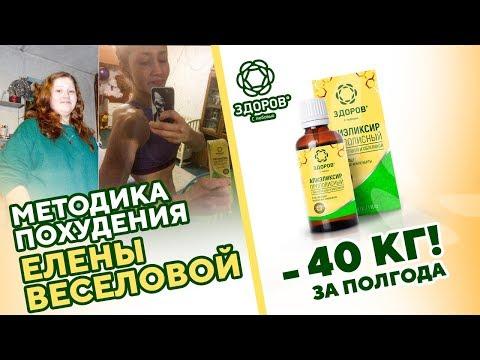Эликсир стройности ЗДОРОВ для похудения