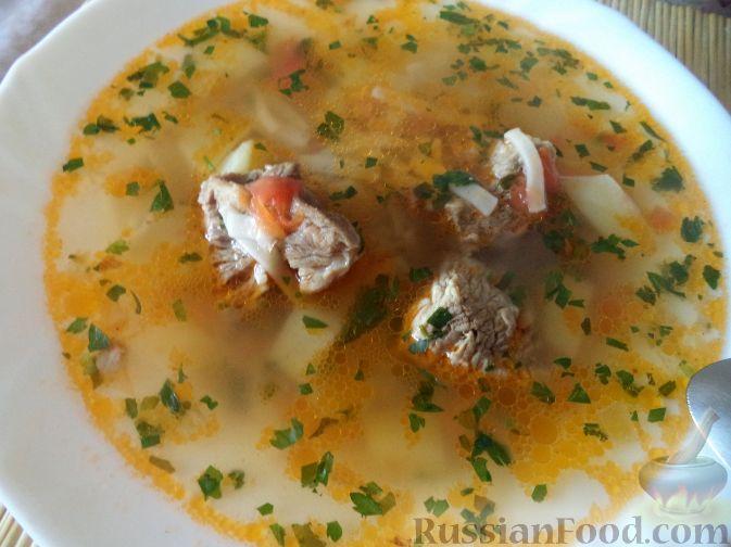 Вкусные супы из свинины рецепты с фото