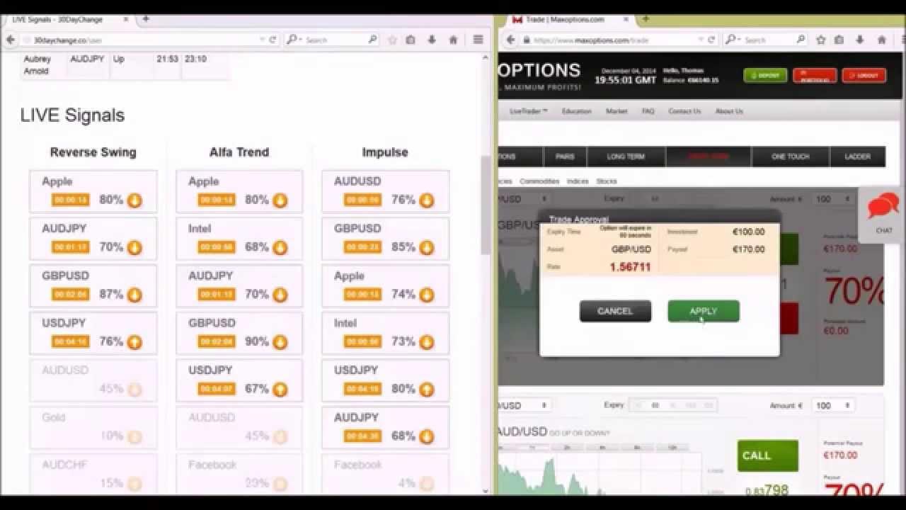 Live binary options signals прога для андроид по сбору биткоин