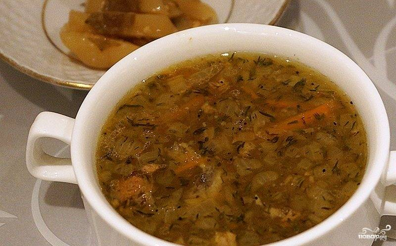 Быстрый легкий рецепт супа