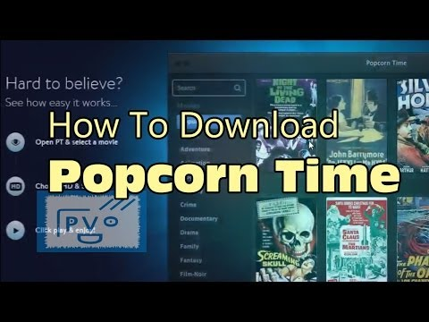 Popcorn Time Free Download for Windows 10, 7, 8/81