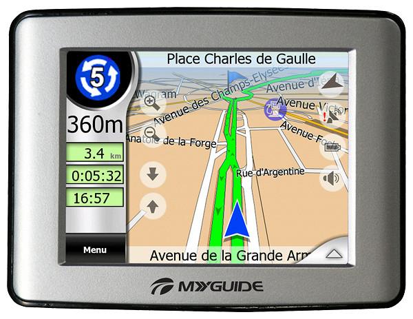 Характеристики gps навигатора
