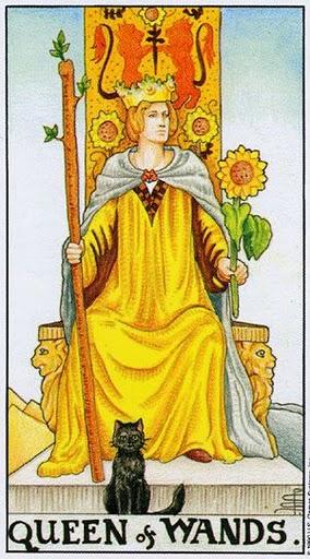 Значение карты Королева Жезлов (Посохов) Таро