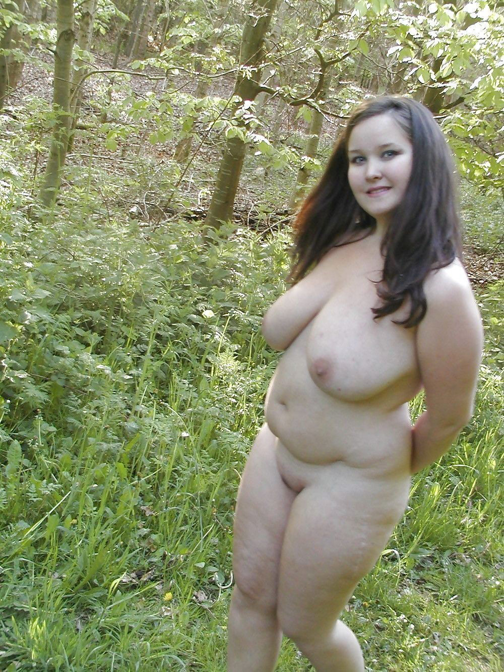 interracial Bbw outdoor