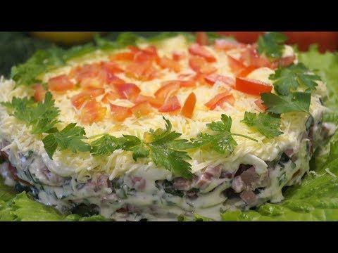 Скачать рецепты салатов быстрых и