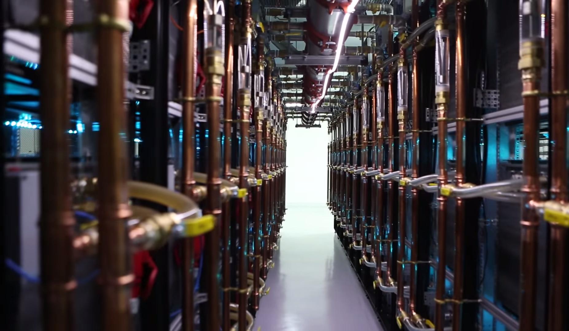 build bitcoin server farm