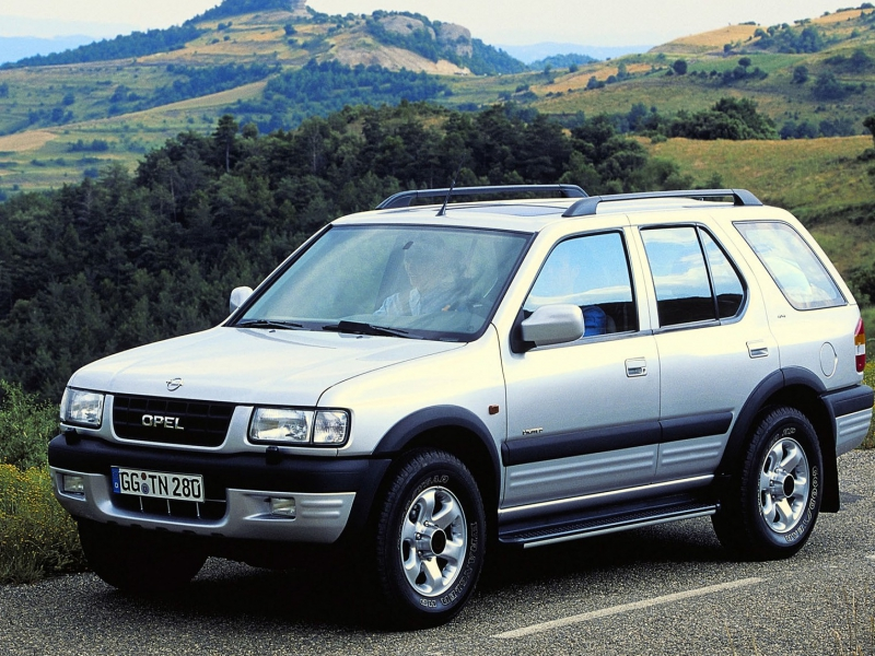 Vauxhall Frontera B 2003 Workshop Manual PDF Download