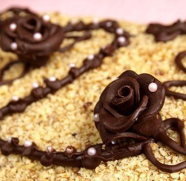 Рецепт Быстрый ореховый торт безвыпечки
