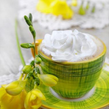 Рецепт Белый горячий шоколад стыквой