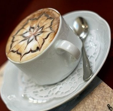 Рецепт Кофейный напиток сяблочным соком