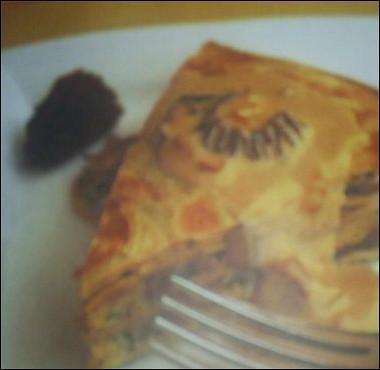 Рецепт Блинчатый пирог сгрибами