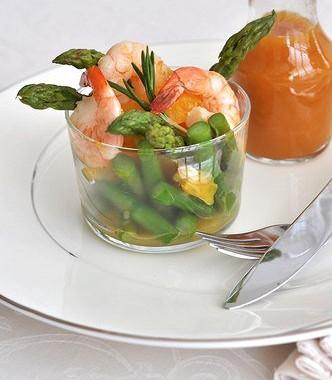 Рецепт Апельсиновый винегрет смаслом грецкого ореха