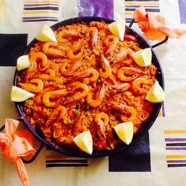 Рецепт Валенсийская паэлья сморепродуктами