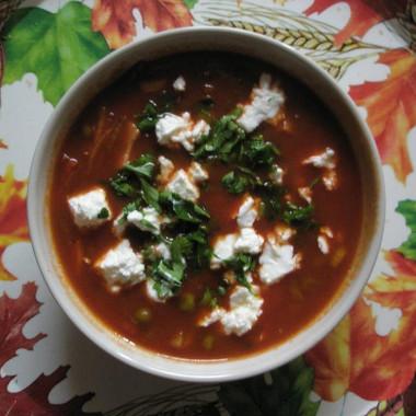 Рецепт Быстрый суп стоматным соком
