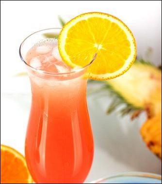 Рецепт Апельсиново-клюквенный коктейль