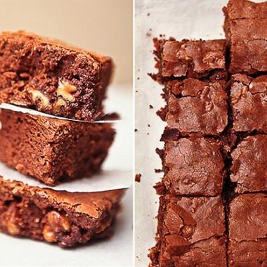 Рецепт Шоколадные брауни сгрецкими орехами