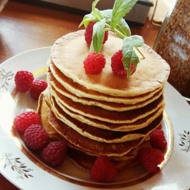 Рецепт Блинчики насливках по‑американски (pancakеs)