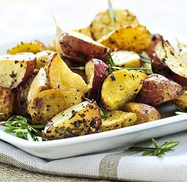Рецепт Жареный картофель с оливками и лимоном по‑мароккански