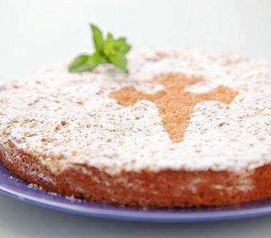 Рецепт Апельсиновый пирог соливковым маслом иамаретто